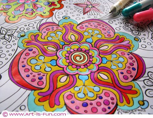 COLORING – Vitality Tip #65 – True To My Body